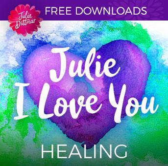 Julie's I Love You - Healing (mp3 download) | Julie Dittmar